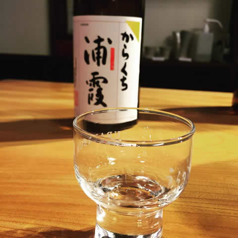 浦霞のきき酒