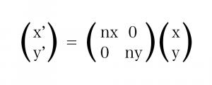 長さを n 倍にする 計算式