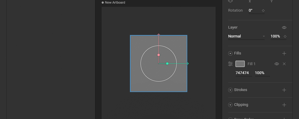 四角形のオブジェクトを描画する
